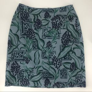 Tommy Bahama 100% silk Skirt
